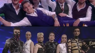 Artists reactions during the recaps   Eurovision moments