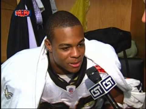 Pierre Thomas Post Game Super Bowl Interview