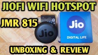 JioFi Hotsport JMR815 Unboxing and Review in Hindi  #37