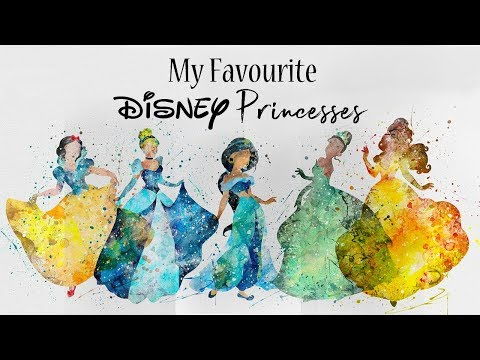 Personal ranking of the Disney Princesses