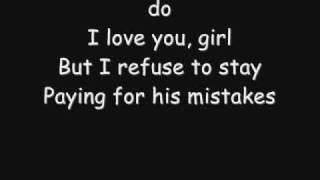 Usher - His Mistakes (lyrics)