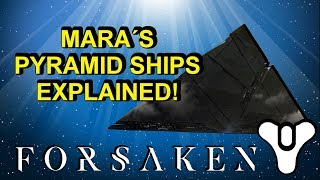 Pyramid ships in Mara's Throne World Destiny 2 Forsaken Lore | Myelin Games