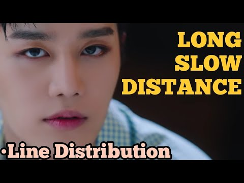 NCT 127 - LONG SLOW DISTANCE (Line Distribution)