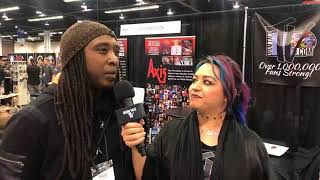 Dave Simmons Interview at NAMM 18 on Drum Talk TV