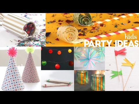 10 Ideas For The Best Kids Party Ever | Holiday Crafts