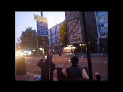 Walworth Road Riots: UK London Elephant & Castle 8.8.11