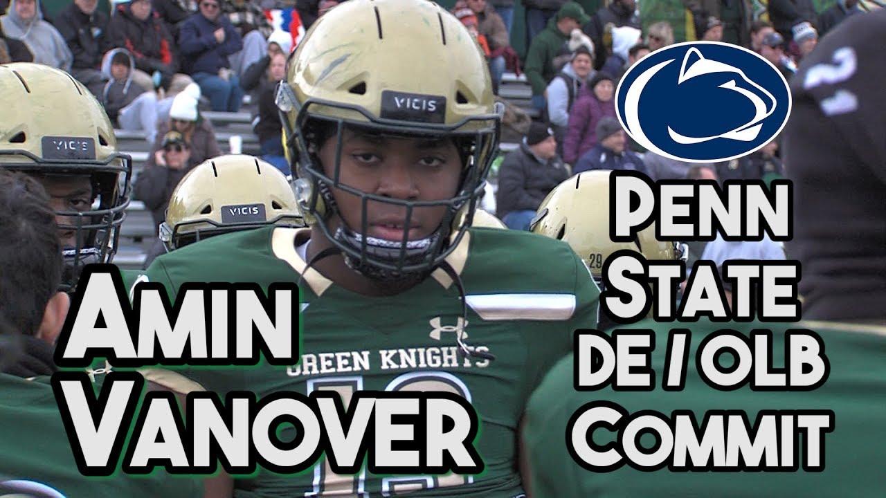 Amin Vanover   Penn State Commit   St  Joseph (Mont ) EDGE   2018 Highlight  Reel Mixtape