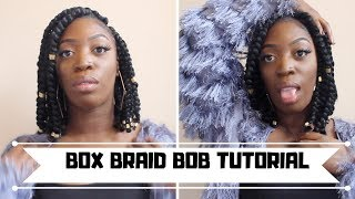 Short Bob Box Braids | Asdela