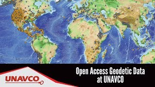 Open Access Geodetic Data at UNAVCO