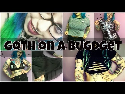 Goth/Alternative On A Budget *UNDER £5* // Emily Boo