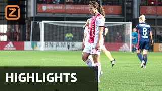 Samenvatting Champions league dames: Ajax - Olympique Lyon