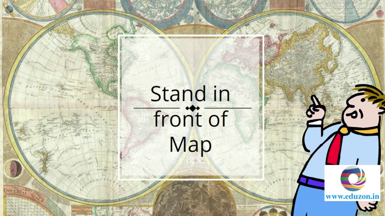 Map Pointing Questions || 10th Class Social Studies