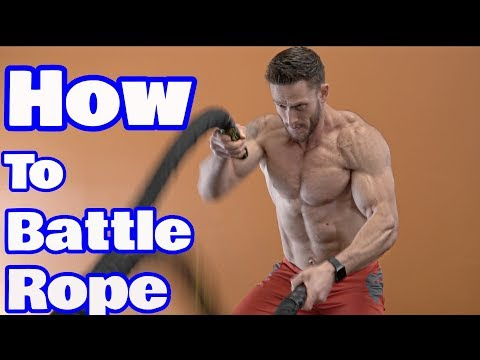 HIIT Training Tip | 4 Ways to Use Battle Ropes to Maximize your HIIT WorkoutsThomas DeLauer