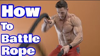 HIIT Training Tip | 4 Ways to Use Battle Ropes to Maximize your HIIT Workouts- Thomas DeLauer