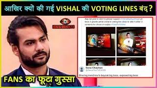 Omg!!! Vishal Aditya Singh's Voting Line CLOSED Before Other Bigg Boss 13 Contestants?