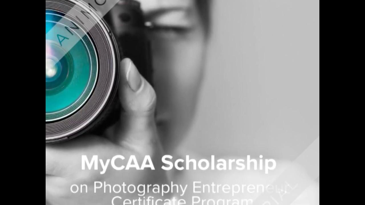Mycaa scholarship on photography entrepreneur certificate program mycaa scholarship on photography entrepreneur certificate program xflitez Images