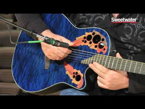 Ovation Celebrity Elite Plus CE44P-8TQ Acoustic-electric Guitar Demo - Sweetwater Sound