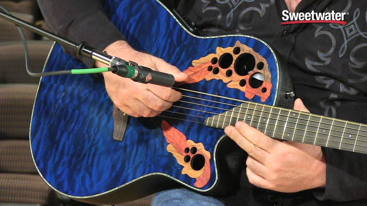 ovation celebrity elite plus ce44p 8tq acoustic electric guitar demo sweetwater sound youtube [ 1280 x 720 Pixel ]