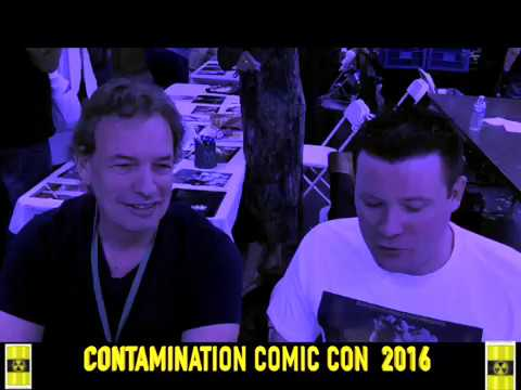Contamination Comic Con Interview With Gary Graham From Star Trek Enterprise 2016