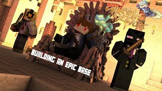 Minecraft | Arkham Network | Factions | S1 EP1 | Building An Epic Base PT 1