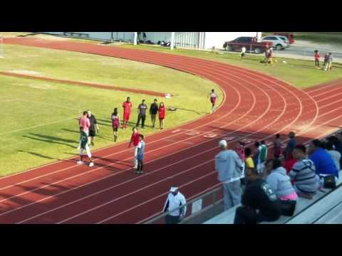 Boys 4x4 relay... Calloway Smith middle school
