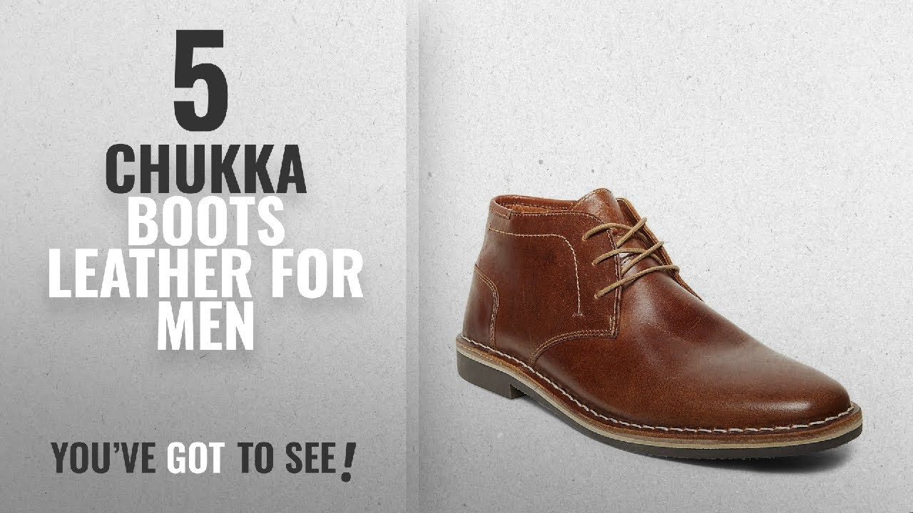 317e21a4ef8 Top 10 Chukka Boots Leather [ Winter 2018 ]: Steve Madden Men's Harken  Chukka BootCognac10 M US