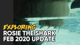 ROSIE THE SHARK   FEBRUARY 2020 UPDATE   LEFT TO ROT IN DARKNESS