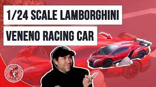 РВ іграшка RC гоночний автомобіль Ламборгіні отруйну 1/24 масштаб перегляду відео