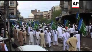 4:3 Protest after bin Laden death; Kuchlak, Peshawar anti-US protest
