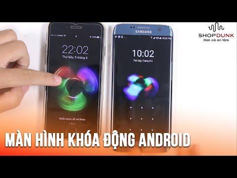 Cách tạo màn hình khóa bằng hình động trên Android