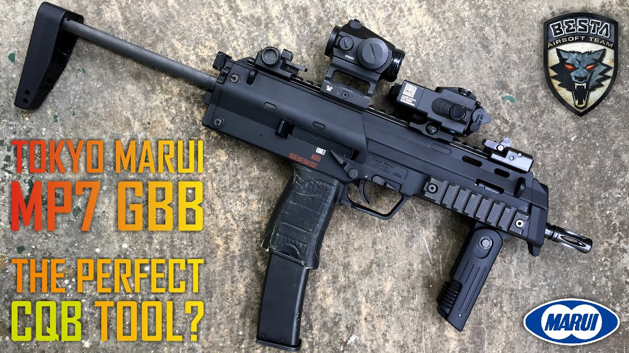 Tokyo Marui MP7 GBB Review [ The Perfect CQB Tool ? ]