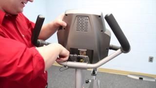 Spirit CU800 Exercise Bike Assembly