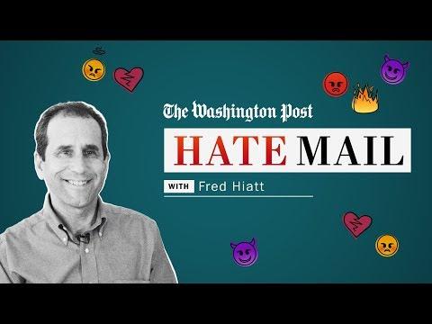 Washington Post hate mail: Fred Hiatt