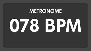 78 BPM - Metronome