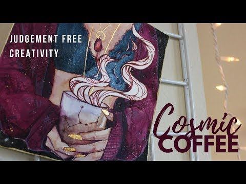 Cosmic Coffee - Creative Mindfulness + Tarot pull