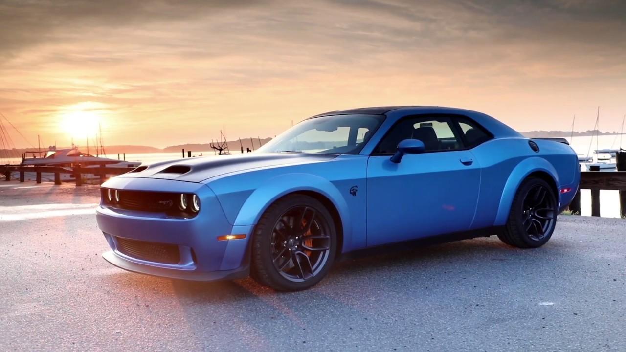 Dodge Challenger Hellcat Blue >> 2019 Dodge Challenger Srt Hellcat Redeye Widebody Blue Youtube