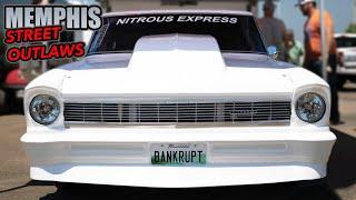 MEMPHIS Street Outlaws vs Midwest BIG TIRE Race!