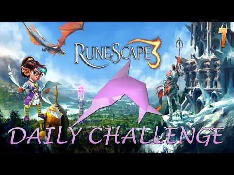 Runescape Daily Challenge: Catch 38 Swordfish