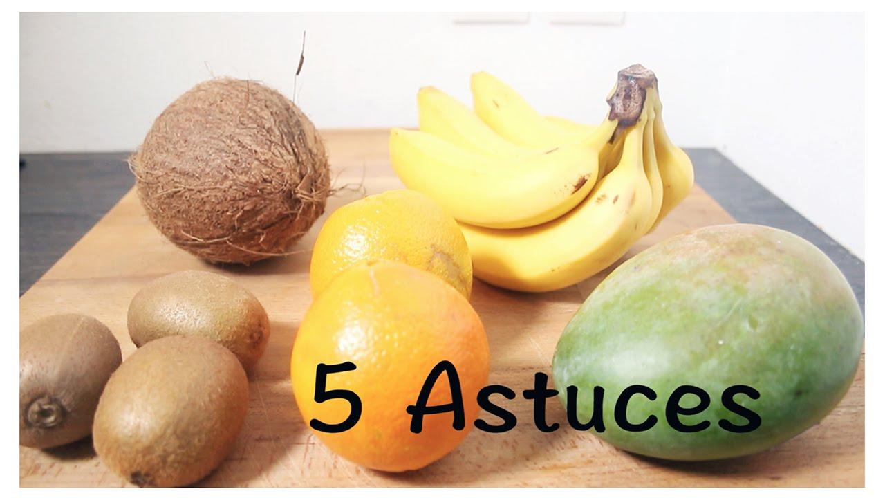 5 Astuces : Couper des Fruits