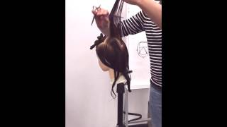 Мягкая каскадная стрижка для длинных и средних волос. Павел Охапкин.
