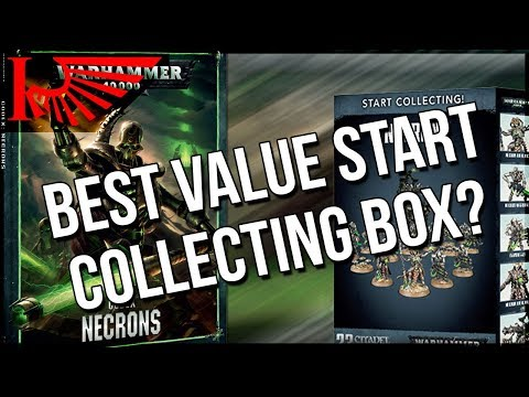 New Necron Start Collecting Box + Forgebane = A Tempting Combination