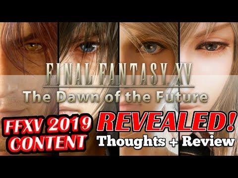5 NEW 2019 Final Fantasy XV DLC thoughts + Review (Episode Ardyn, Aranea, Luna, Noctis & Finale)