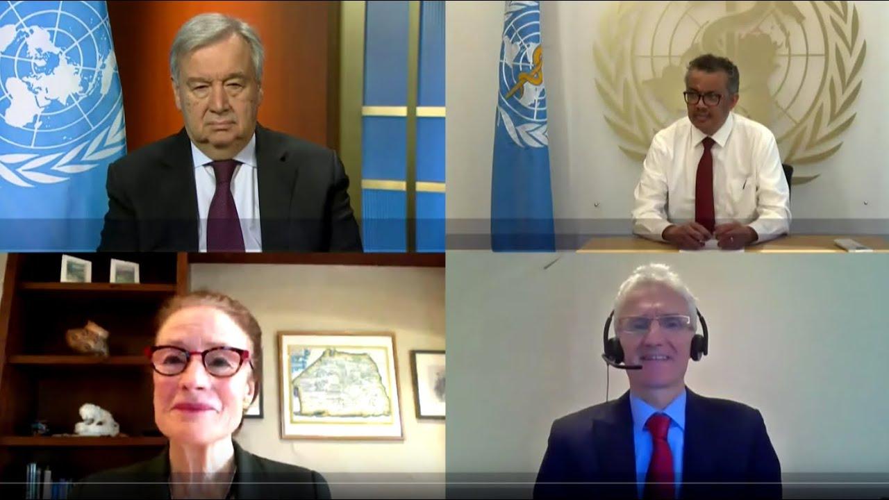 Launch of the COVID-19 Global Humanitarian Response Plan thumbnail