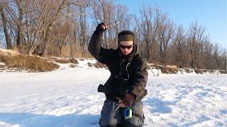 НОРМАЛЬНАЯ РЫБА Подарок от Реки на мормышку Зимняя рыбалка