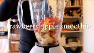 Strawberry Apple Smoothie