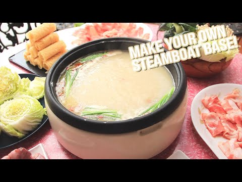 How-to-make Your Own Steamboat Soup Base | Fish Hotpot 鱼头炉
