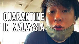 Quarantine Day 1 | Travelling back to Malaysia | #shotoniphone