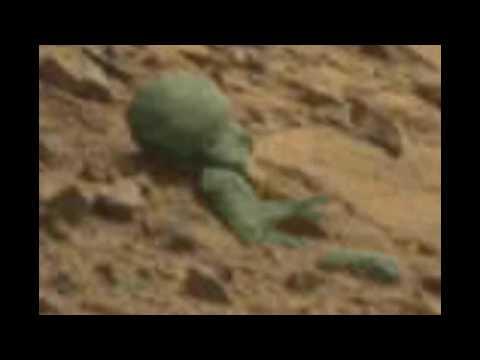 На Марсе нашли труп инопланетянина и космический корабль