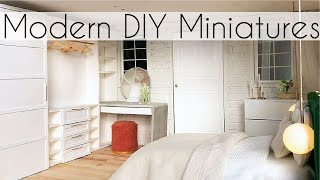 DIY  DOLL CLOSET (miniature walk-in wardrobe)
