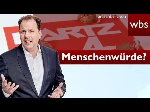 Verstößt Hartz IV gegen die Menschenwürde? BVerfG prüft | Rechtsanwalt Christian Solmecke